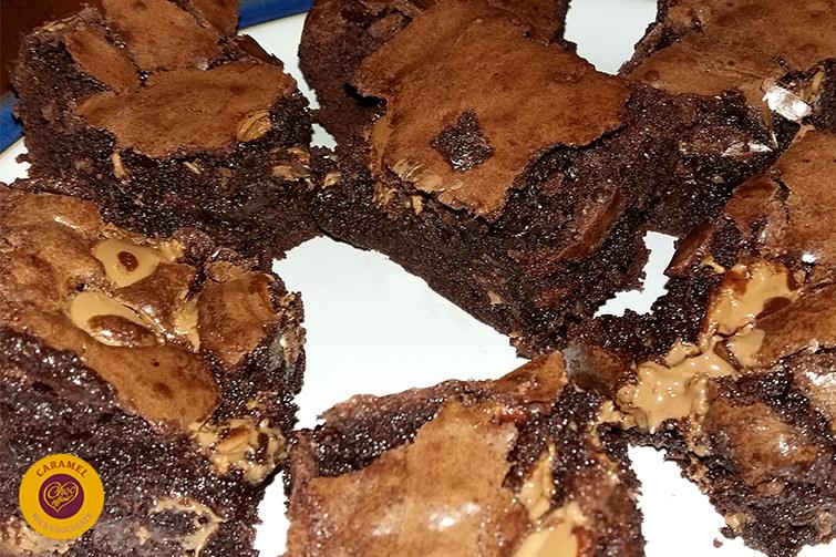 Brownies Milk Caramel