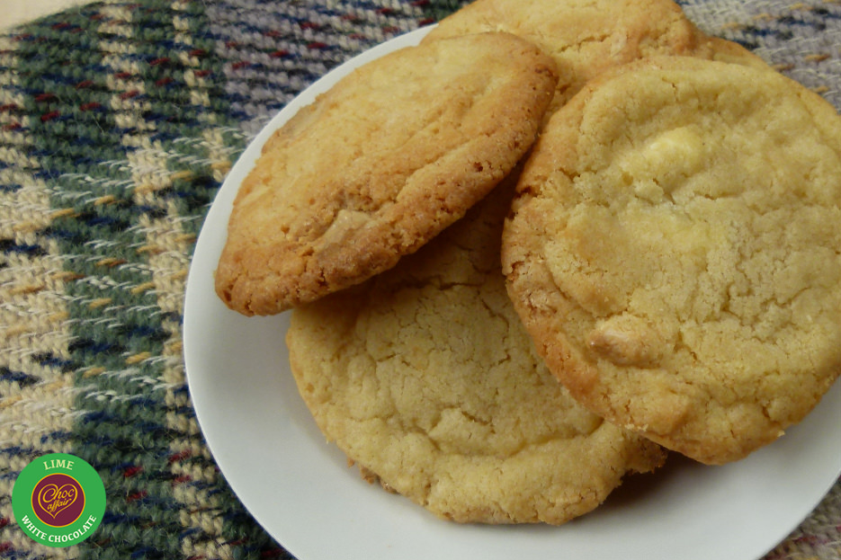 White Lime Cookies