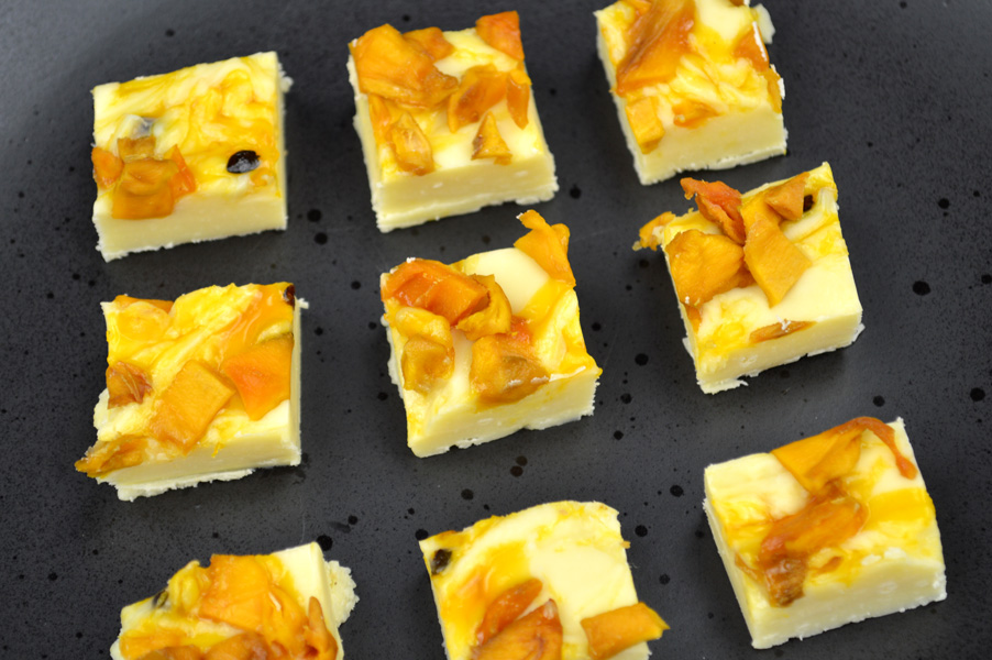 mango White Chocolate Fudge